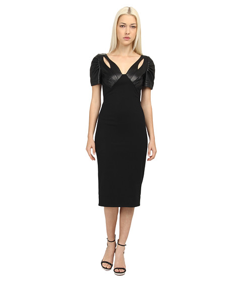 ZAC Zac Posen - ZP-01-5051-16 (Black) Women's Dress