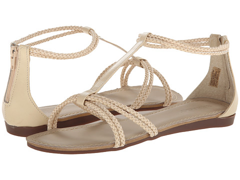 Sebago - Poole T-Strap (Ivory) Women's Sandals