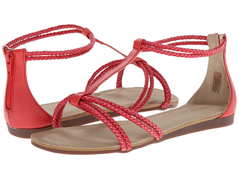 Sebago - Poole T-Strap (Coral) Women's Sandals