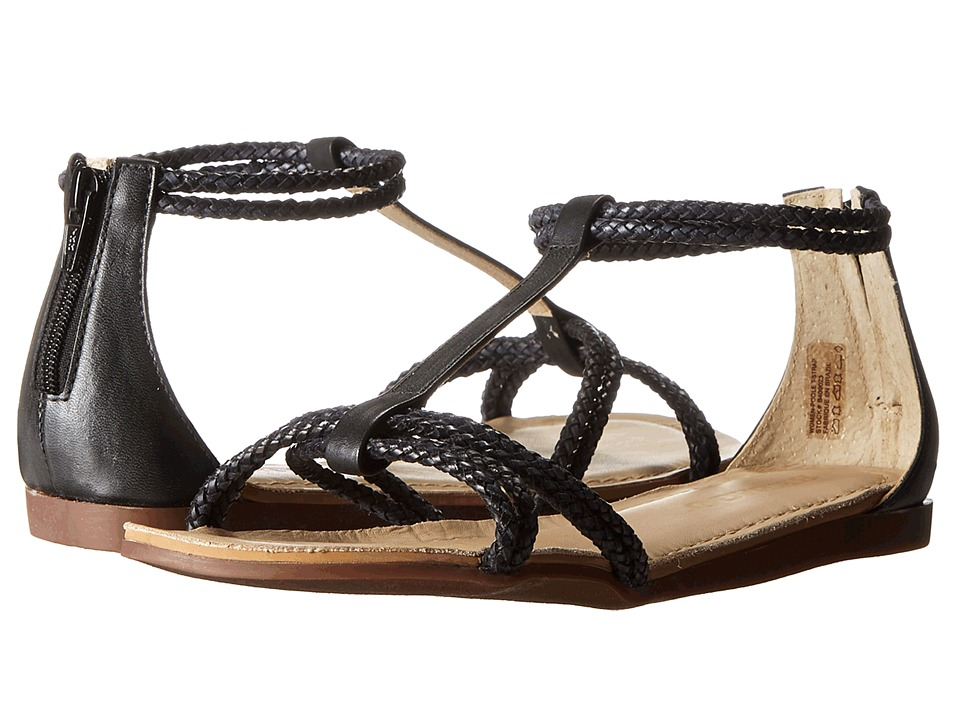 Sebago - Poole T-Strap (Black) Women's Sandals