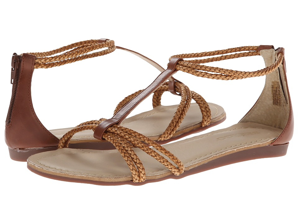 Sebago - Poole T-Strap (Brown) Women's Sandals