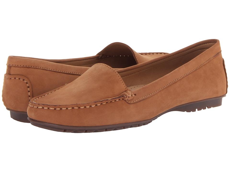 Sebago - Meriden Moc (Tan Nubuck) Women's Shoes