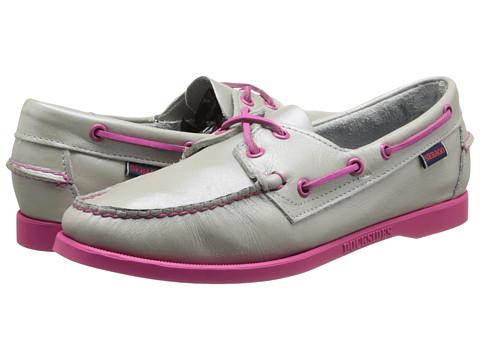 Sebago - Docksides (Silver/Pink) Women