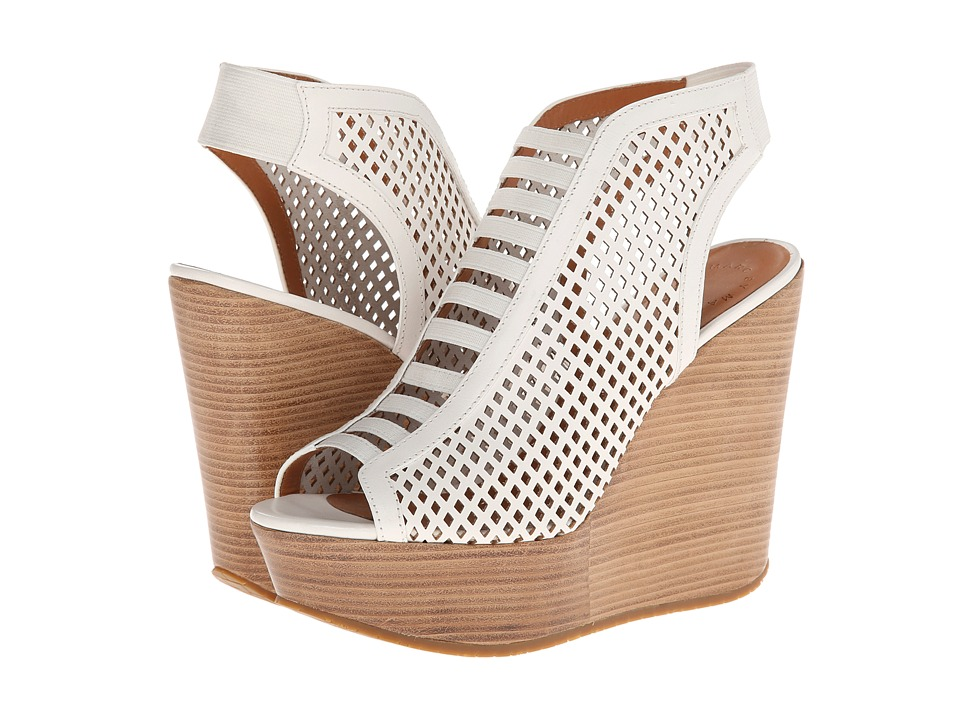 Marc by Marc Jacobs - Easy Breeze 85mm Sandal Wedge (White) Women