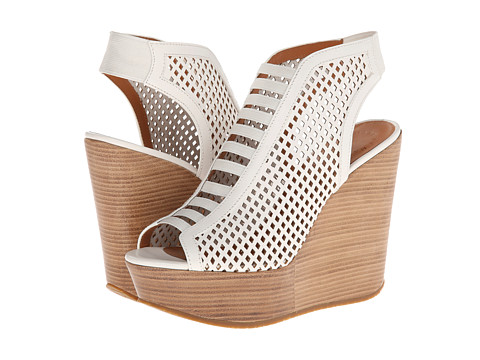 Marc by Marc Jacobs - Easy Breeze 85mm Sandal Wedge (White) Women's Wedge Shoes