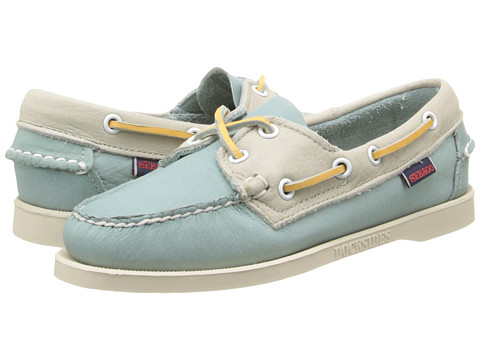 Sebago Spinnaker (Light Teal/Ivory) Women's Lace up casual Shoes