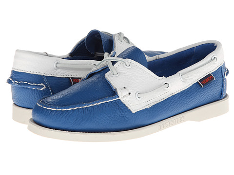 Sebago Spinnaker (Blue/White) Women's Lace up casual Shoes