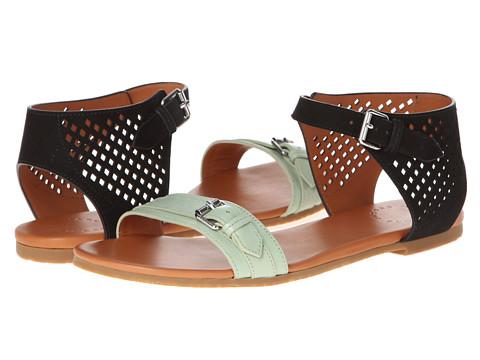 Marc by Marc Jacobs - Little Diamonds Flat Sandal (Green/Black) Women's Shoes