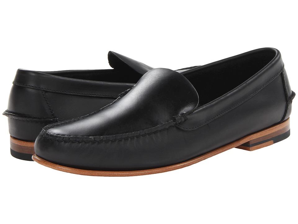 Sebago - Wicklow Moc (Black) Men's Slip on Shoes