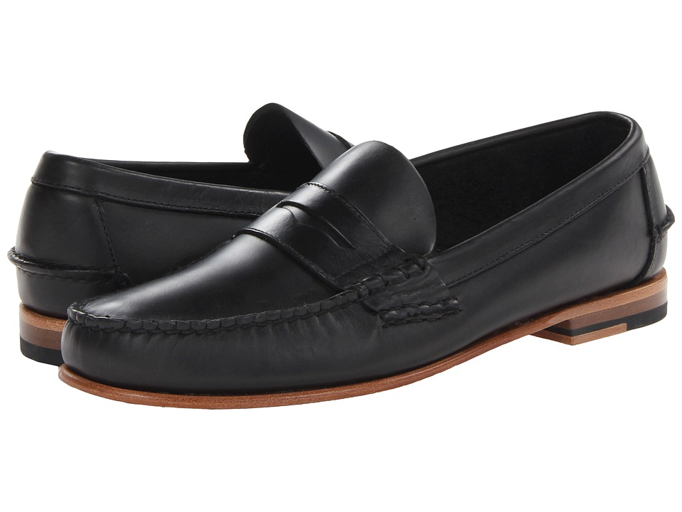 Sebago - Wicklow Penny (Black) Men's Slip on Shoes