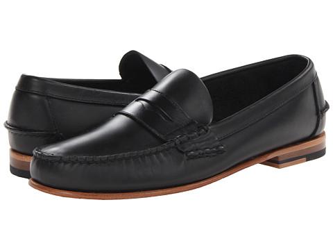 Sebago - Wicklow Penny (Black) Men's Slip on Shoes
