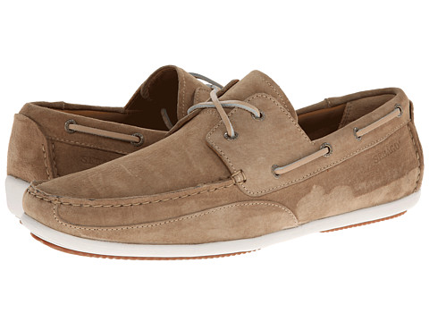 Sebago - Canton Two-Eye (Taupe Suede) Men's Shoes