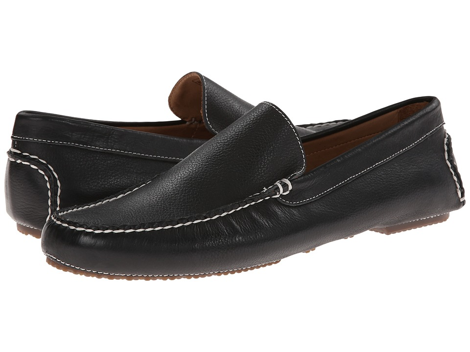 Sebago - Saunter Moc (Black) Men's Slip on Shoes