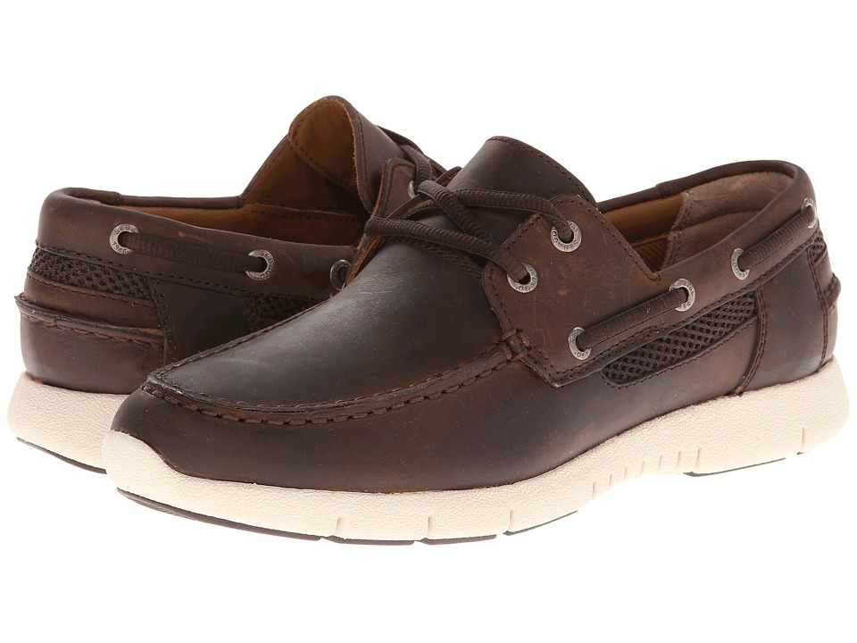 Sebago - Kingsley Two-Eye (Walnut) Men's Shoes