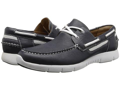 Sebago - Kingsley Two-Eye (Navy) Men's Shoes