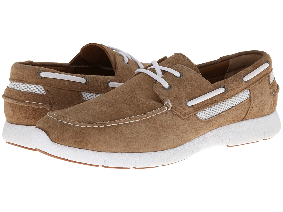 Sebago - Kingsley Two-Eye (Taupe Suede) Men's Shoes