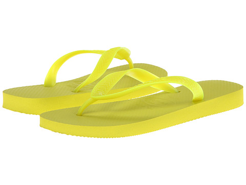 Havaianas - Top Flip Flops (Neon Yellow) Women's Sandals