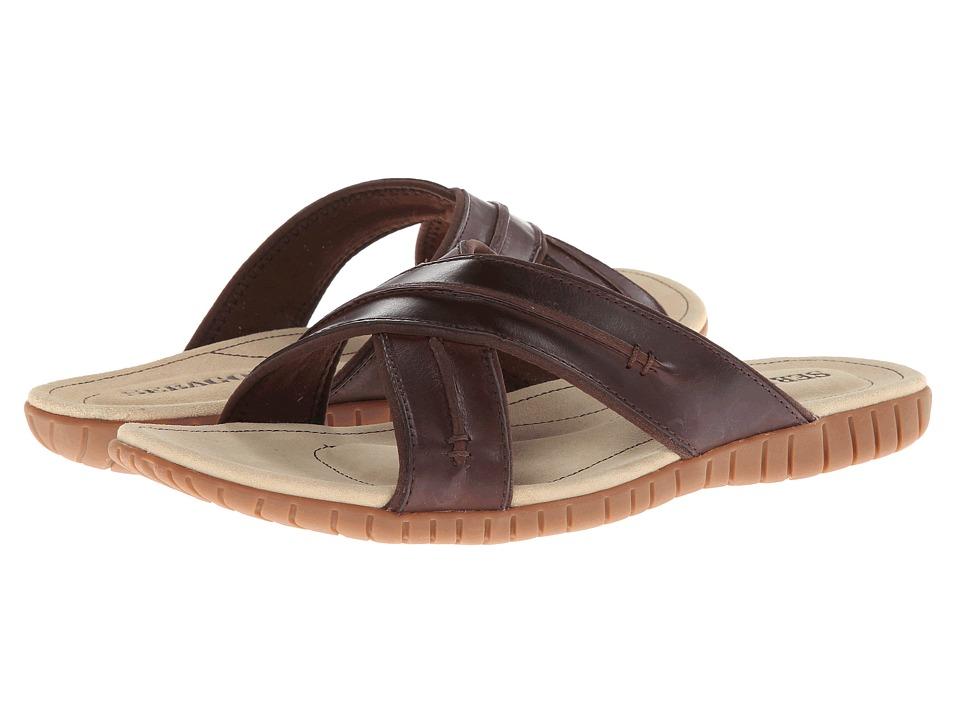 Sebago - Becket Cross (Dark Brown) Men's Shoes