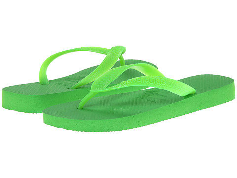 Havaianas - Top Flip Flops (Neon Green1) Women's Sandals