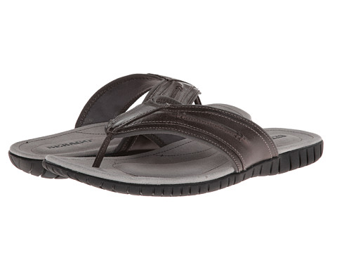 Sebago - Becket Thong (Dark Grey) Men