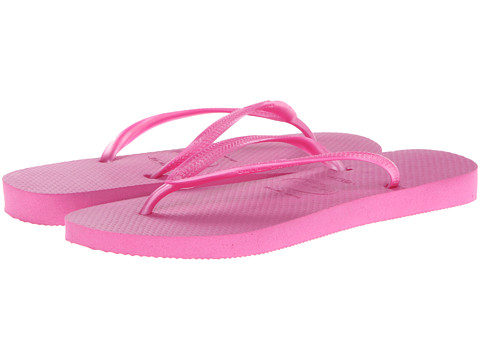 Havaianas - Slim Flip Flops (Light Pink) Women