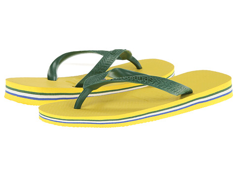 Havaianas - Brazil Flip Flops (Citrus Yellow) Women's Sandals