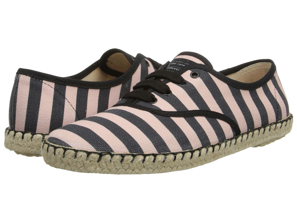 Marc by Marc Jacobs All Stripes Sneaker (Black/Pink) Women