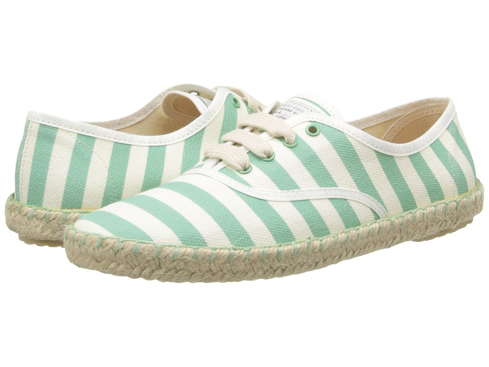 Marc by Marc Jacobs All Stripes Sneaker (Green/White) Women