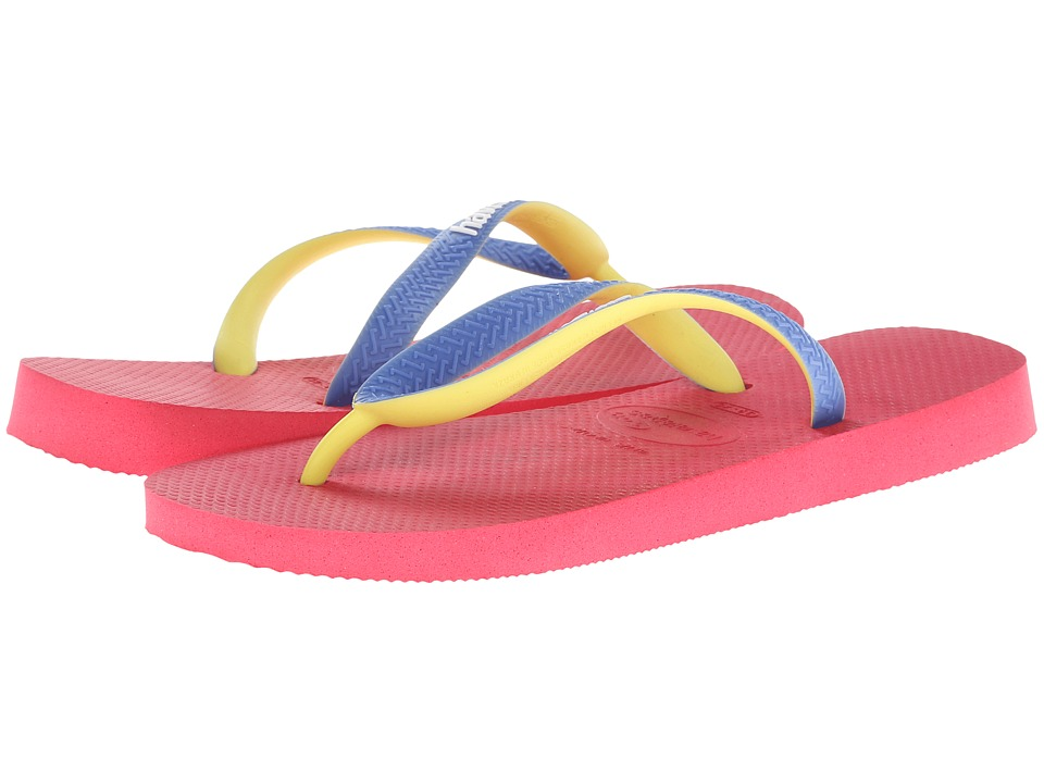 Havaianas - Top Mix Flip Flops (Neon Pink) Women