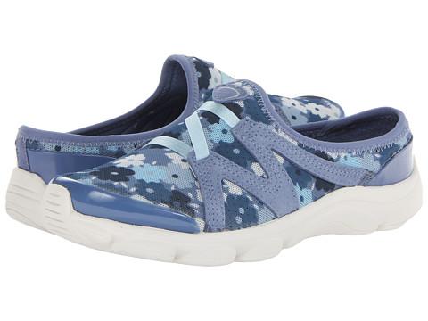 Easy Spirit - Riptide (Medium Blue Combo Fabric) Women's Slip on Shoes