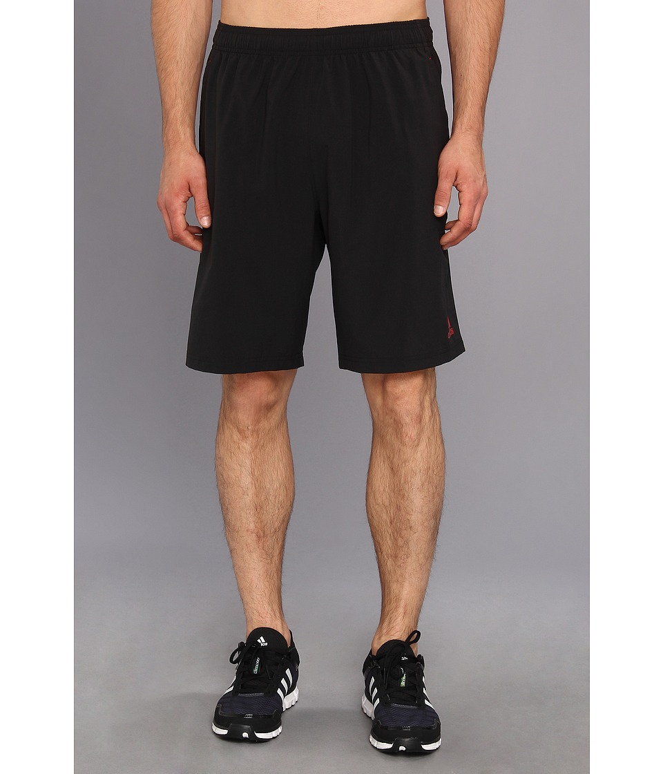 adidas - Ultimate Swat Woven Short (Black/Light Scarlet) Men's Shorts