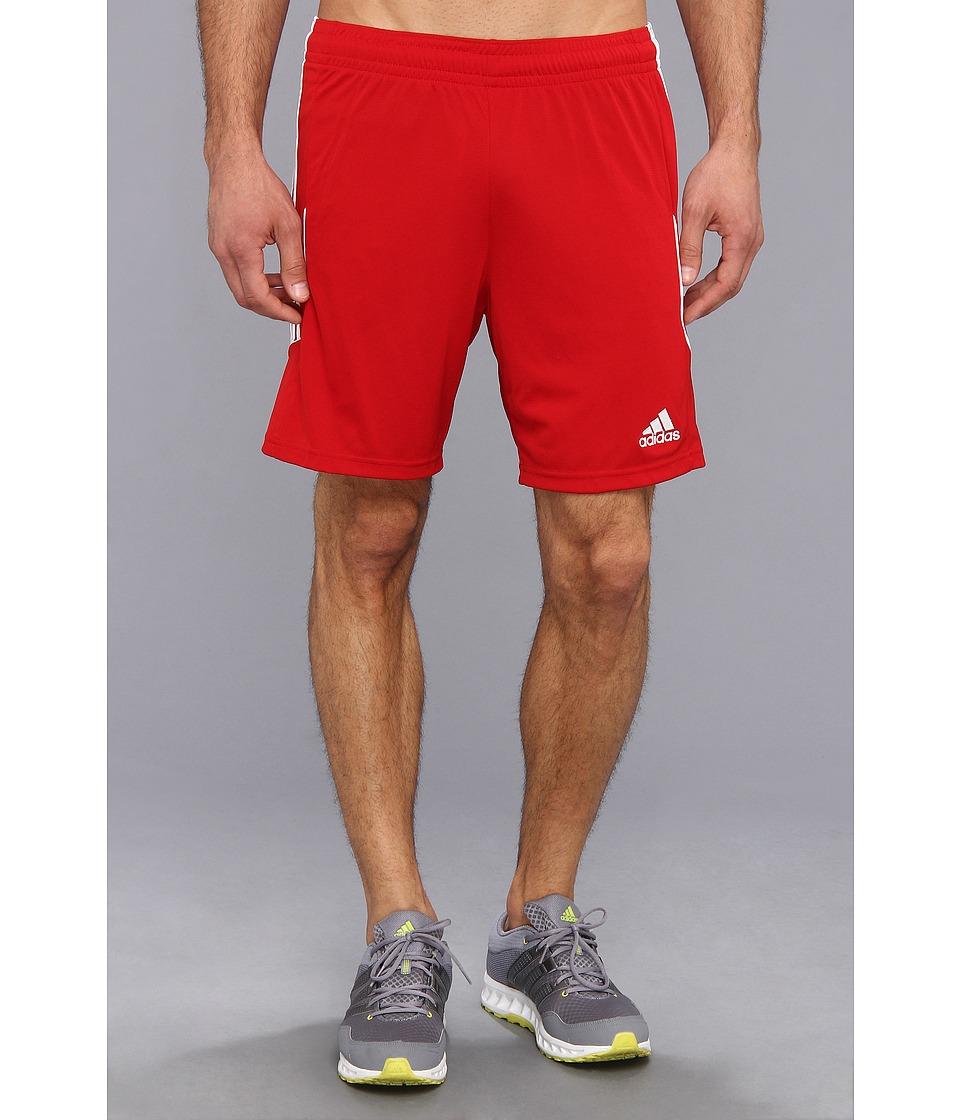 adidas - Squadra 13 Short (University Red/White) Men's Shorts