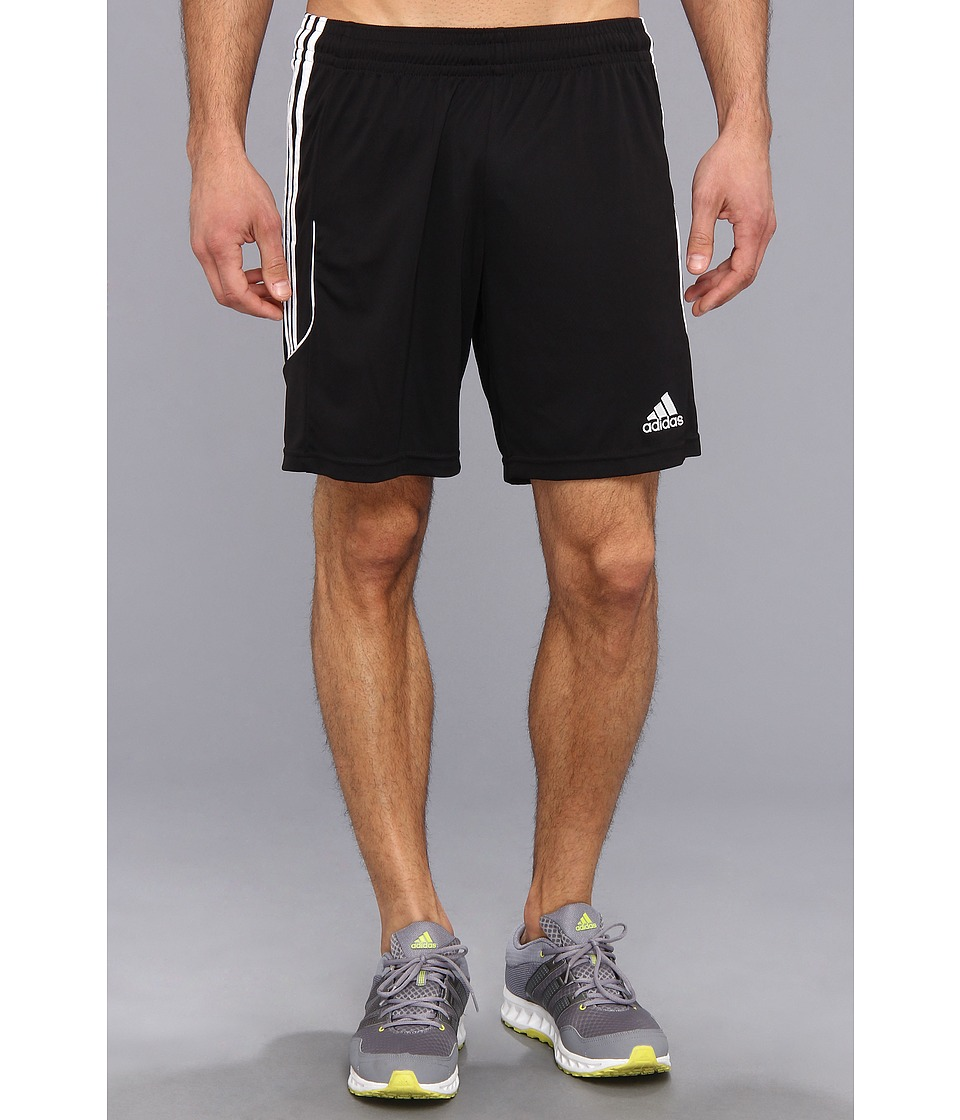 adidas - Squadra 13 Short (Black/White) Men's Shorts
