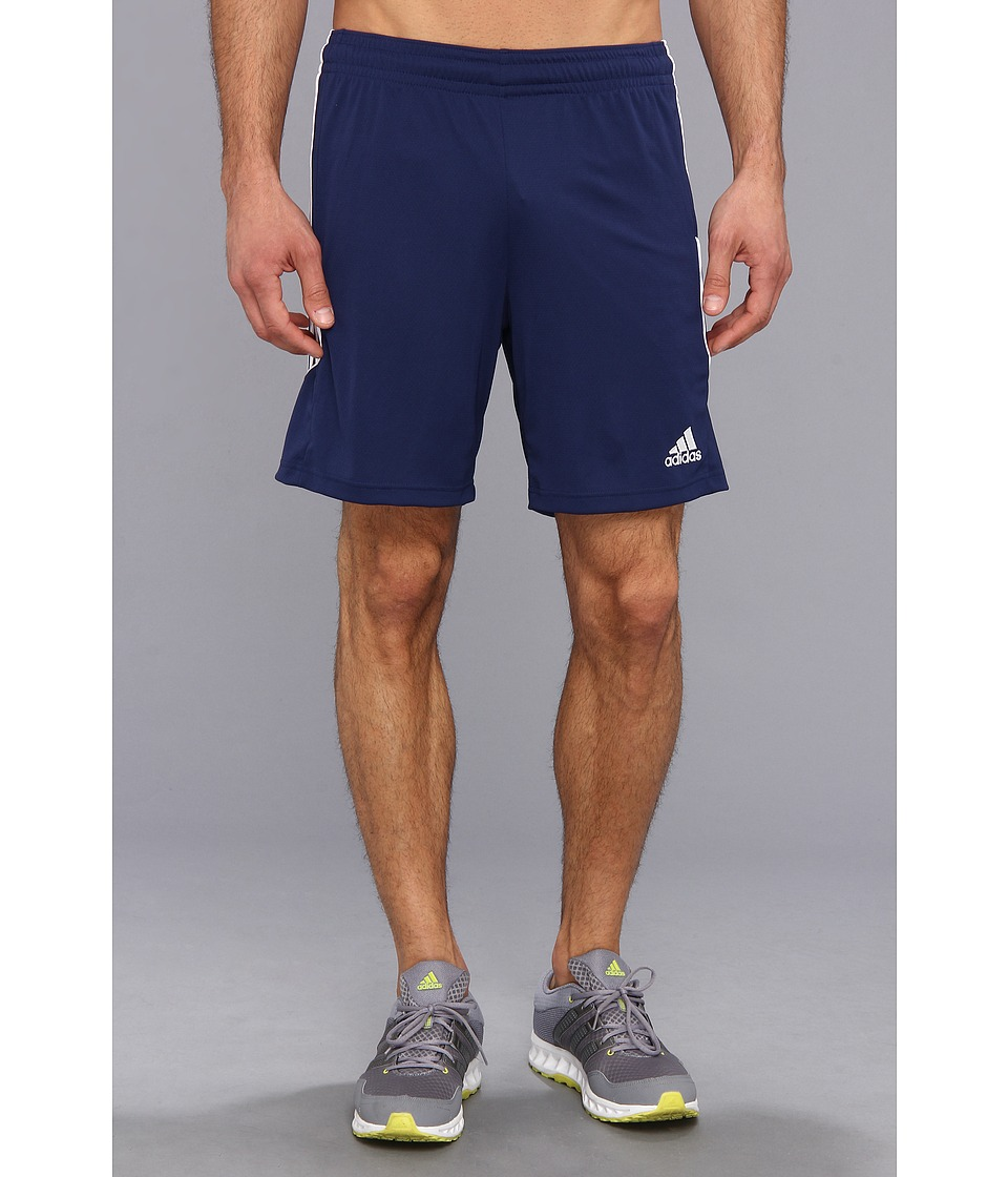 adidas - Squadra 13 Short (New Navy/White) Men's Shorts
