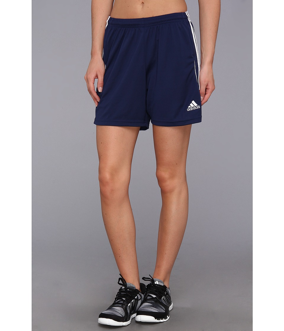 adidas - Squadra 13 Short (New Navy/White) Women's Shorts