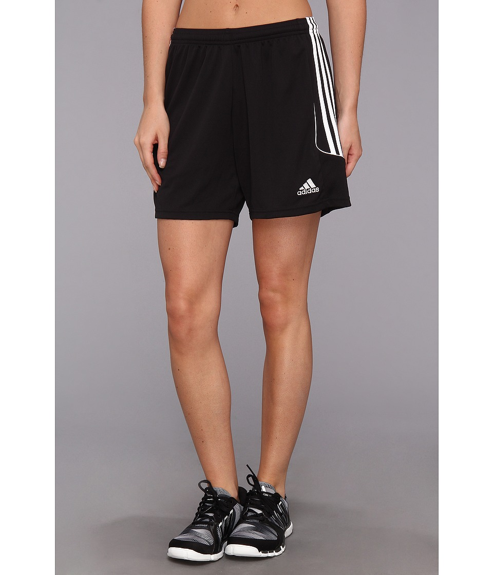 adidas - Squadra 13 Short (Black/White) Women's Shorts
