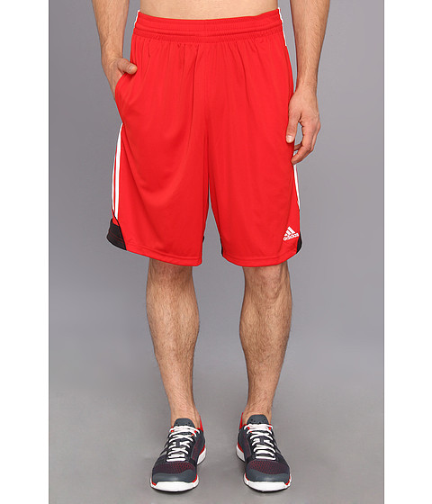 adidas - 3G Speed Short (Light Scarlet/White/Black) Men's Shorts