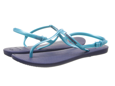 Havaianas - Freedom Flip Flops (Navy Blue) Women