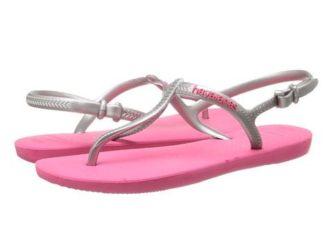 Havaianas - Freedom Flip Flops (Pink/Silver) Women