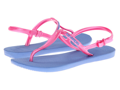 Havaianas - Freedom Flip Flops (Blue/Pink) Women's Sandals