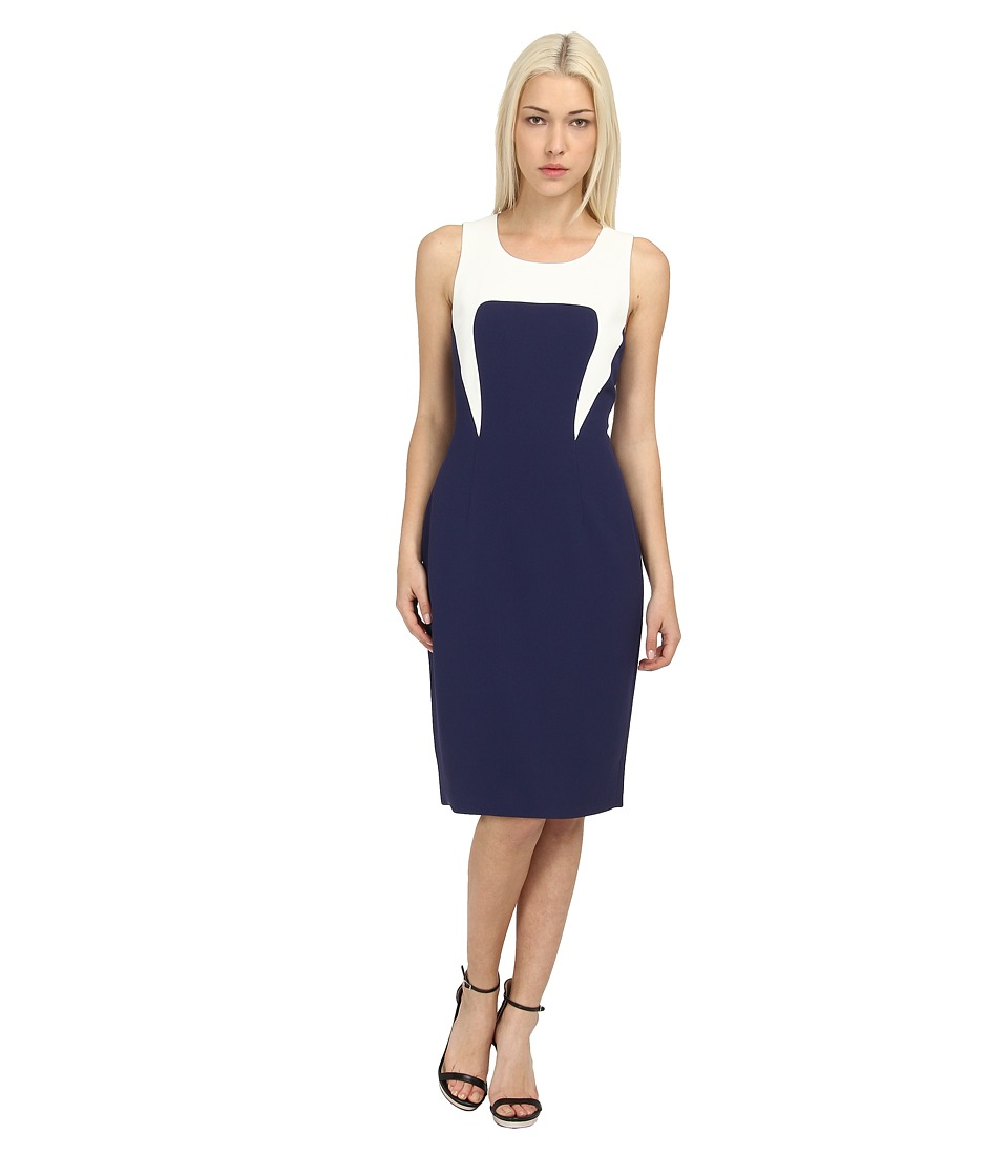 Rachel Roy Color Block Dress (Navy) Women