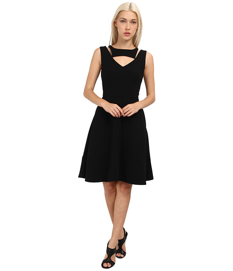 Rachel Roy - Cut Out Dress (Black) Women's Dress