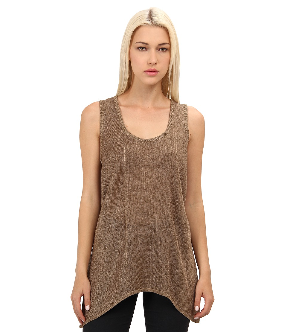 Rachel Roy - Tank Top (Gold Metallic) Women's Sleeveless