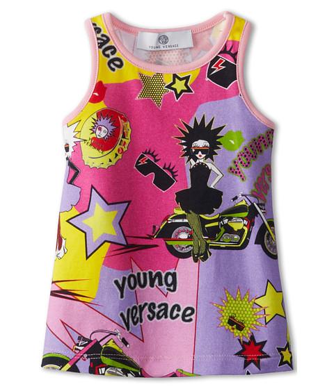 Versace Kids Beachwear Tank Dress Summer Party Print (Infant) (Multi) Girl's Dress