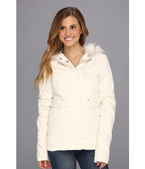 Fox - Evolve Bomber Jacket (Bone) Women's Coat