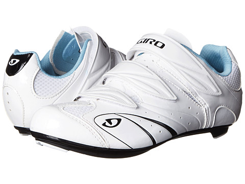 Giro - Sante (White Black Milky Blue) Women's Cycling Shoes