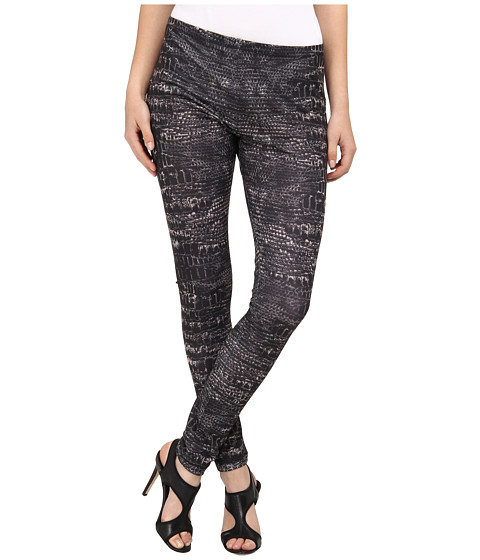 McQ - 332433 RBJ58 1059 Printed Legging (Black Reptile) Women's Casual Pants