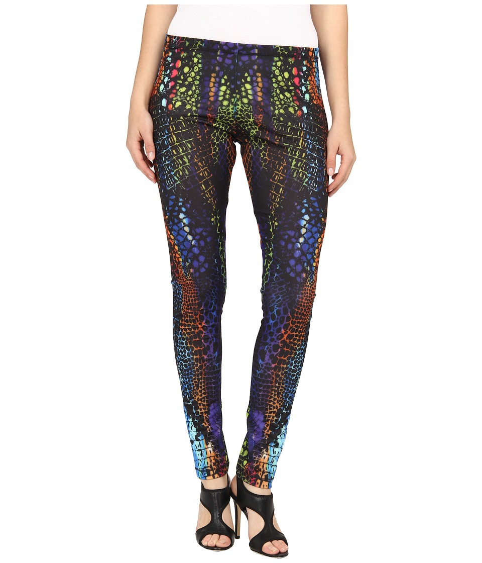 McQ - 332433 RBJ56 1089 Printed Legging (Multi Crocodile) Women's Casual Pants