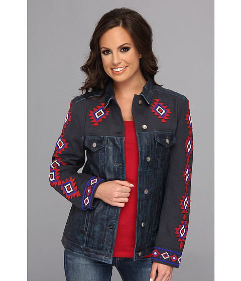 Tasha Polizzi - Freedom Jacket (Indigo) Women's Coat