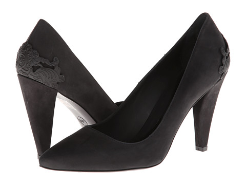 McQ - Lex Punk 90 (Black/Citrus) High Heels
